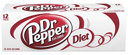 (Diet Dr Pepper, 12 fl oz cans, 12 count)