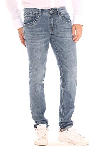 Stretch A Keyjey Denim In Jeans Uomo Sigaretta Cotone BUFwH0qF