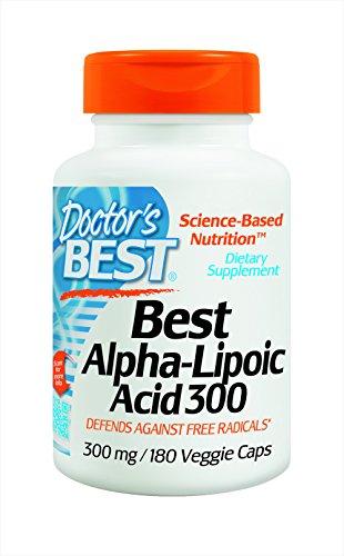 Doctor's Best, Best Alpha-Liponsäure, 300 mg, 180 Veggie Caps
