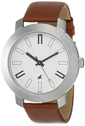Fastrack Casual Analog White Dial Men's Watch NM3120SL01/NN3120SL01