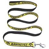 Pets First Iowa Hawkeye Team Pet Dog Collar Leash Large