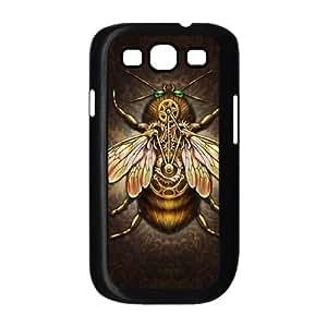 Samsung Galaxy S3 9300 Cell Phone Case Black Steampunk Bee JSK823410