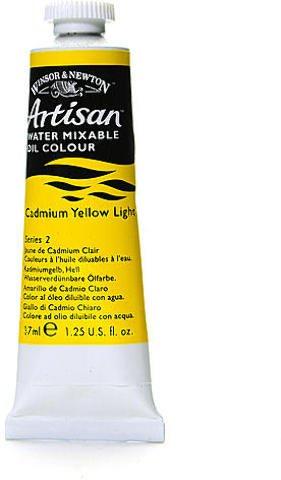 (Winsor & Newton Artisan Water Mixable Oil Colours (Cadmium Yellow Light) 1 pcs sku# 1837912MA)
