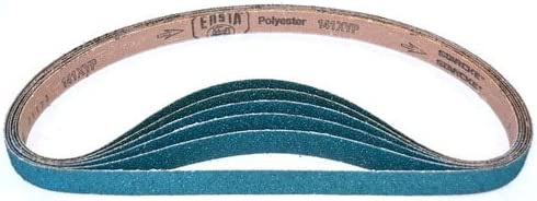 1-1/8-Inch x 21-Inch Zirconia Abrasive Belt (60 Grit, 30 Pack)