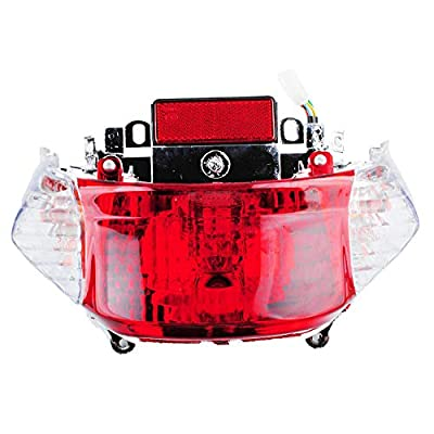 Ketofa GY6 Tail Light Taillight Assembly Applicable TaoTao Sunny Jonway 49CC 50CC 4-stroke Engine Chinese Scooters: Automotive