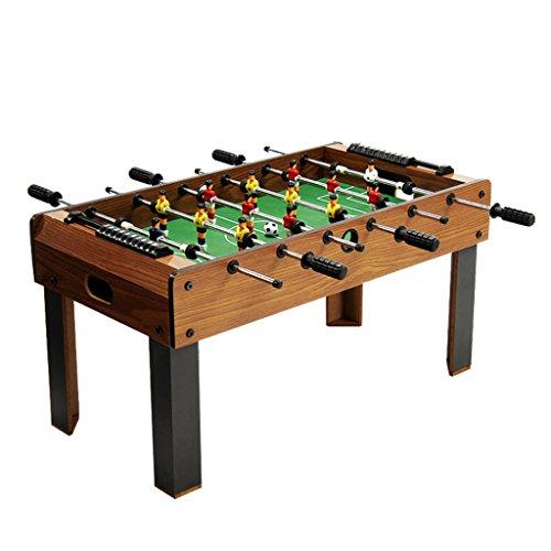 6バーの卓上サッカー、木製のおもちゃサッカーテーブルスポーツボード、子供と大人サッカーのおもちゃのゲーム、ミニ屋内のおもちゃ、家族のサッカーの試合