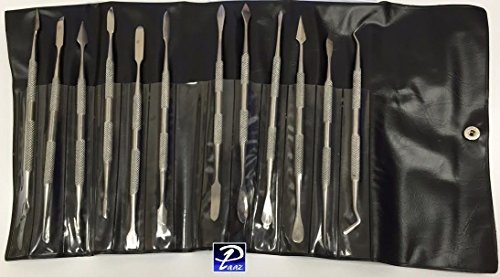 Carver Wax - Wax Carving Tools Double Ended Spatulas/Carvers Set of 12