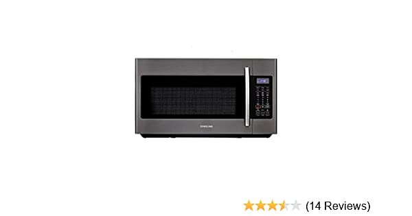 Samsung ME18H704SFG 1.8 Cu. Ft. Black Stainless Steel Over-the-Range Microwave