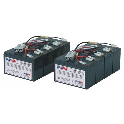 RBC12 Replacement Battery Set for APC Smart-UPS 2200 Rack Mount 3U SU2200RM3U (Rbc12 Replacement)