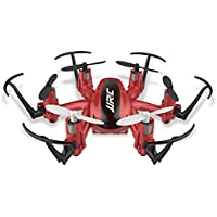 Two Years Drone Helicopter JJRC H20 Quadcopters Professional Mini Drones Flying Helicopter (Red)