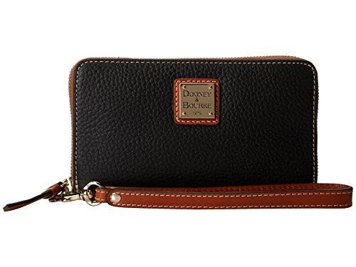 Dooney & Bourke Zip Around Carryall Wristlet Black