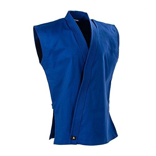 (Century 8 oz. Middleweight Brushed Cotton Sleeveless Karate Jacket)