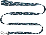 NFL Philadelphia Eagles Team Pet Leash, 1-inch by 60-inches, Green