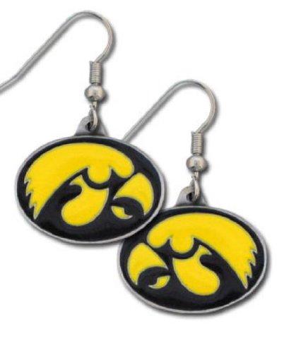 Iowa Hawkeyes Jewelry (NCAA Iowa Hawkeyes Dangle)