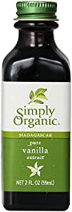 Simply Organic Vanilla Extract, 2 Fl Oz