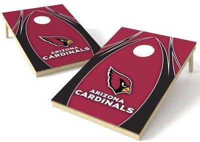 Wild Sports NFL Arizona Cardinals 2' x 3' V Logo Cornhole Game Set [並行輸入品]