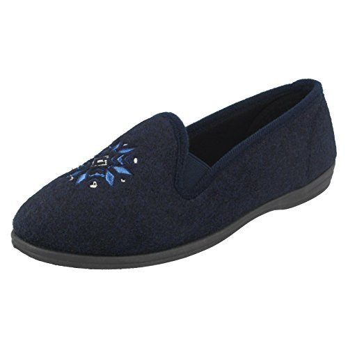 Clarks , Chaussons pour femme bleu bleu marine Bleu Marine