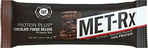 MET-Rx Protein Plus Chocolate Fudge, 85 gram, 9 count