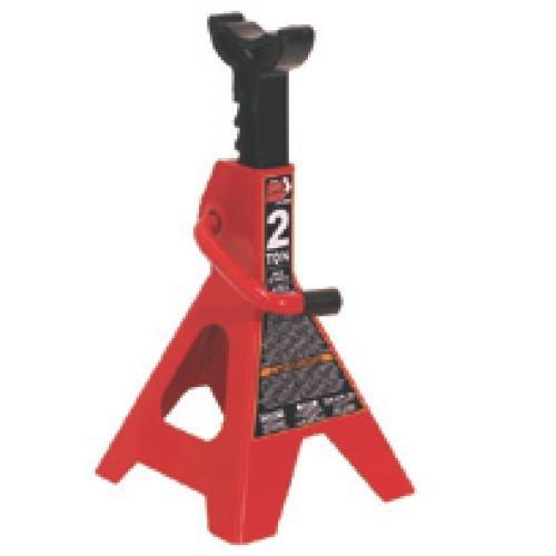 Torin Big Red Steel Jack Stands: 2 Ton Capacity, 1 Pair