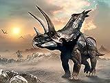 Lais Puzzle Agujaceratops Dinosaurs 2000 Pieces