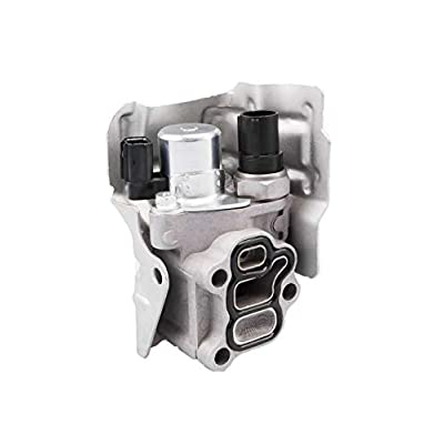 Tecoom 15810-RAA-A03 Spool Valve Body VTEC Solenoid Body with Timing Oil Pressure Switch and Gasket for Honda CRV CR-V Civic Element Accord Acura RSX: Automotive