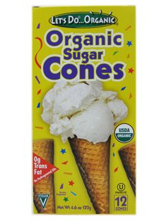 Let's Do…Organic: Organic Sugar Cones (1 x 4.6oz)