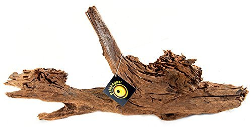 Galapagos Sinkable Driftwood Bed, Natural, Small 6-10''