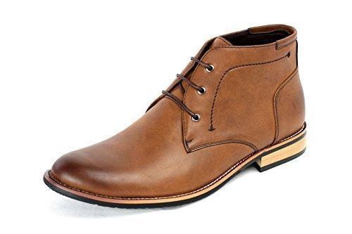 Casual Stivali Moda Caviglia Eleganti Uomo Scarpe Caff P88twUxTq