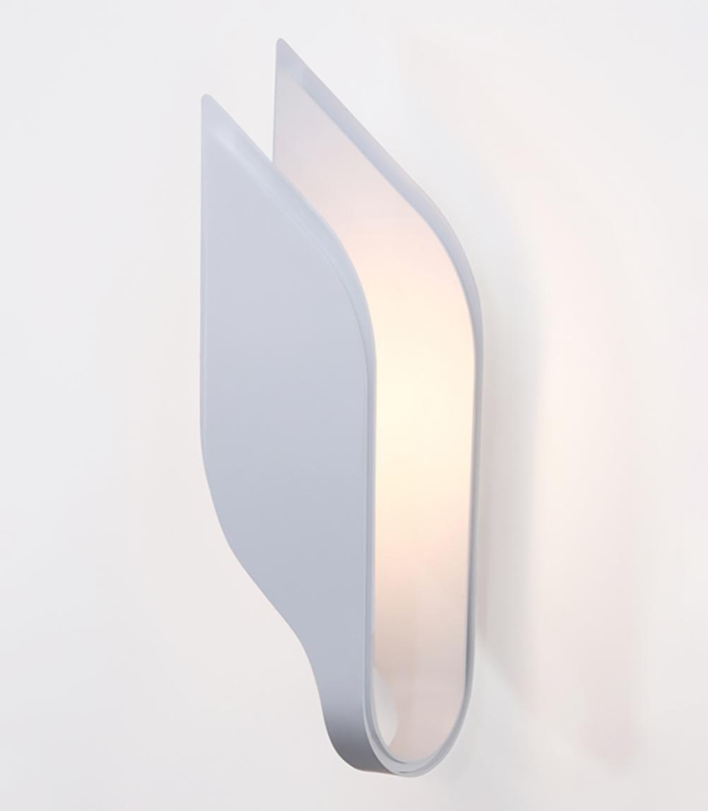 LED wall lamp bedroom bedside lamp aluminum modern hotel lighting , white