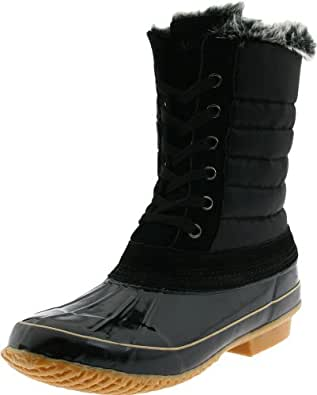 Amazon.com | Khombu Women's Boston Bean Boot | Snow Boots