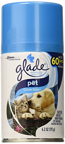 Automatic Spray Air Freshener Refill, Pet Clean Scent, 6.2 Ounce (Clean Spray Air)