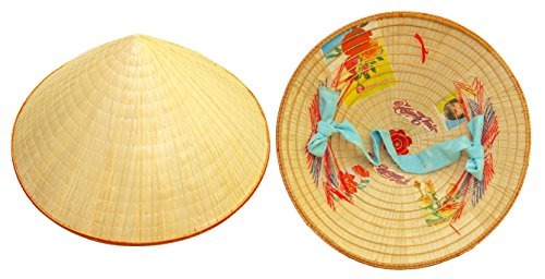 Vietnamese Hat - Traditional Straw Coolie Hat (Non La) -