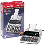 Canon MP11DX Two-Color Printing Desktop Calculator, Black/Red Print