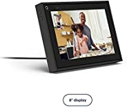 "Facebook Portal Mini Smart Video Calling 8"" Touch Screen Display with Alexa Black"