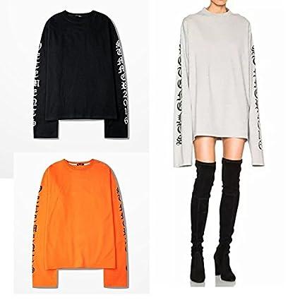 Amazon Com Wpcheng Newly Vetements Oversized Sweatshirts Long