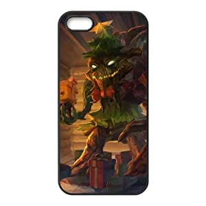 iPhone 5 5s Cell Phone Case Black League of Legends Festive Maokai LK1599669