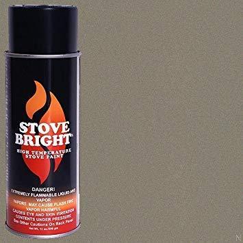 Stove Bright High Temp Paint - Metallic Brown