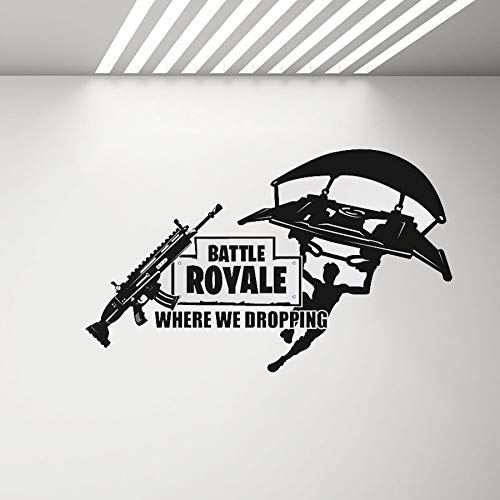 Holly LifePro Gamer Wall Decal Poster Lettering Wall Stickers Murals for Boys Bedroom Playroom Video Game Art Design Stickers Wall for Home Playroom Game-1, 20.5X10.2IN