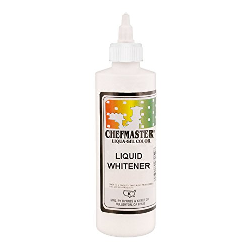 Chefmaster by US Cake Supply 10.5-Ounce Liquid Whitener - 16-Ounce (10.5 Ounce Liquid)