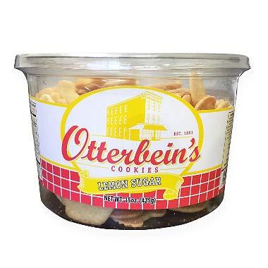 Otterbein's Lemon Sugar Cookies 15 oz. (pack of 4) A1 by OTTERBEINS COOKIES