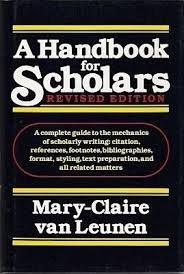 A Handbook for Scholars