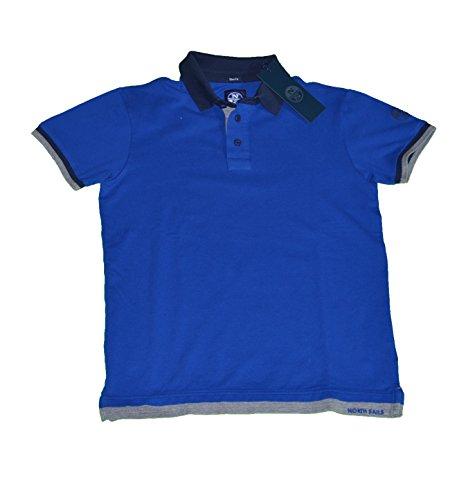 North Sails Herren Poloshirt blau Königsblau