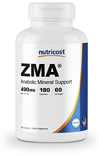 Nutricost ZMA 180 Capsules - Non-GMO and Gluten Free ZMA Supplement