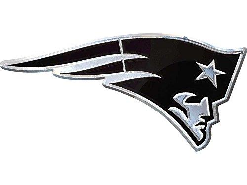 New England Patriots Chrome Auto Emblem