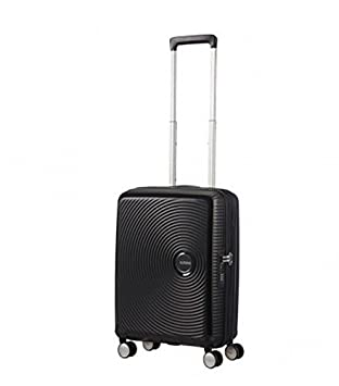 American Tourister - Soundbox Spinner 55/20 Erweiterbar 35.5/41L - 2.6 KG Bass Black