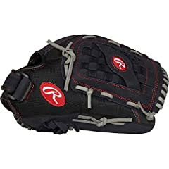 Game-ready right off the shelf, the Rawlings renegade 13-inch Baseball glove features a leather shell palm construction for durability and shape retention. The versatile mitt has a deep, flexible pocket, making it ideal for both Baseball and ...