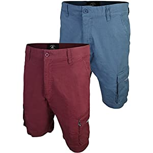 Beverly Hills Polo Club Men's Twill Cargo Short (2 Pack)
