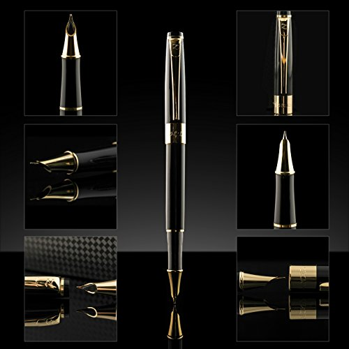 Fountain pen set fine nib with ink refill converter and Elegant writer calligraphy pens