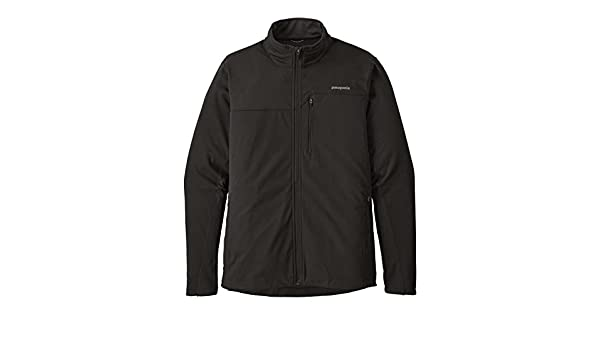 Patagonia Wind Shield Soft Shell Jackets For Women In Black