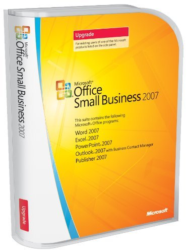 Microsoft Office Small Business 2007 UPGRADE [Old Version]